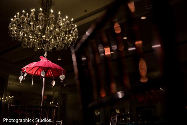 Dazzling hanging chandelier