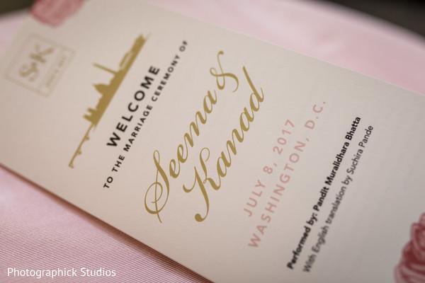 Indian wedding invitations