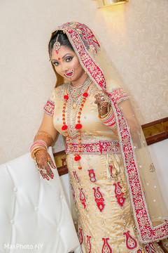 Creative indian bride's capture