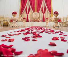 Splendid indian wedding ceremony venue decor