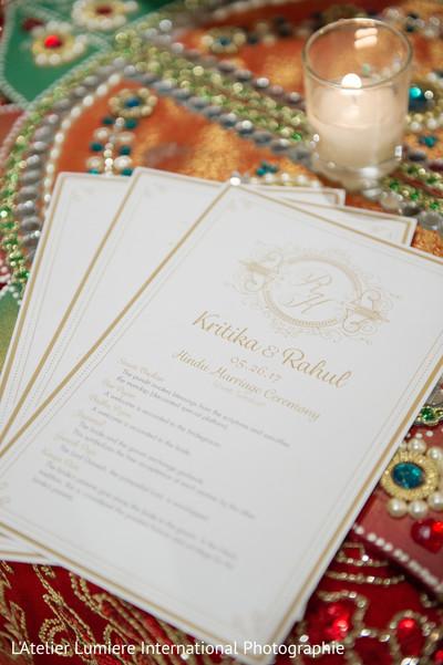 Indian wedding program photography