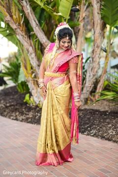 bridal sari,indian bride sari