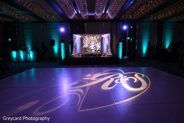 lighting,indian wedding,dance floor