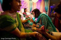 Mehndi Party Saree : Inspiration photo gallery u2013 indian weddings: mehndi party