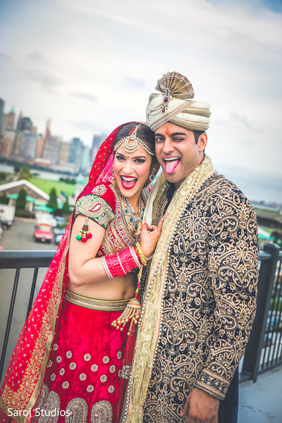 See this ravishing Indian bride and groom's capture