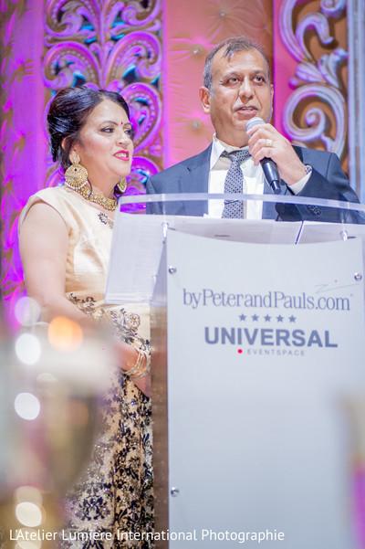 Indian wedding speech moment