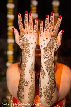 Splendid indian bridal mehndi art