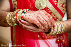 Dazzling indian bridal bangles