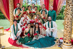 indian wedding ceremony,indian wedding ceremony photography,indian bride and groom,indian bridesmaids and groomsmen