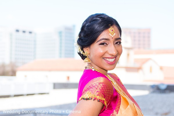 Outdoor themed Indian bride's photo session.