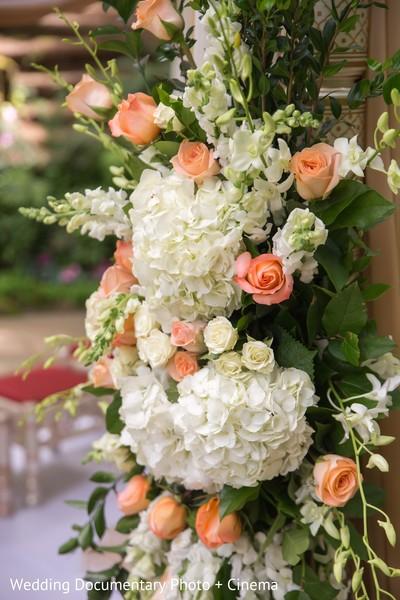 Dreamy mandap flower decoration.