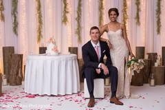 indian bride and groom,indian wedding reception fashion,indian wedding cake,indian wedding decor