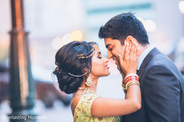 indian bride and groom,indian wedding hair and makeup,indian wedding fashion
