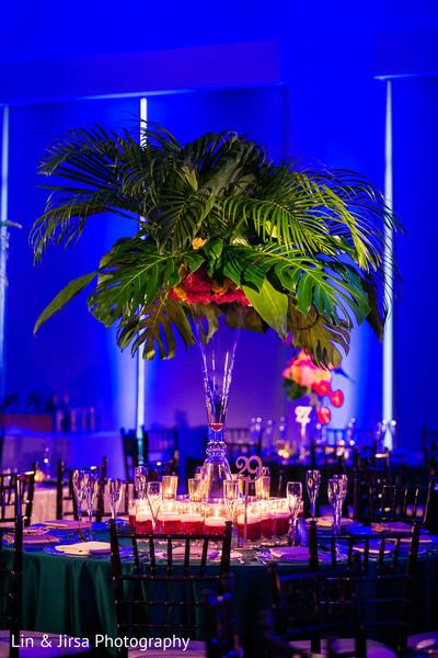 indian wedding reception,indian wedding reception floral and decor,floral centerpiece