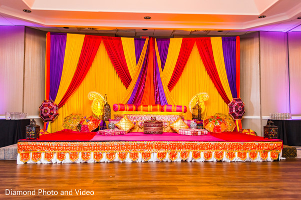 indian wedding gallery,indian pre-wedding celebrations,sangeet,sangeet decor