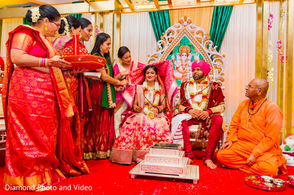 Enchanting indian wedding ceremony