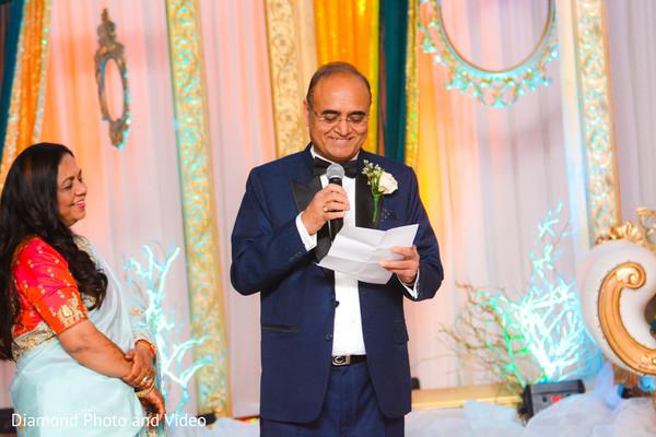 Lovely indian wedding speech scene