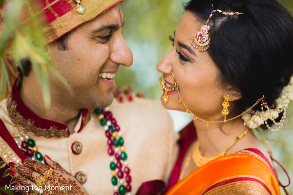 indian bride and groom,indian wedding fashion,indian bride's jewelry