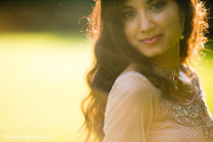 indian bride,indian bride's reception fashion,indian bride hair and makeup