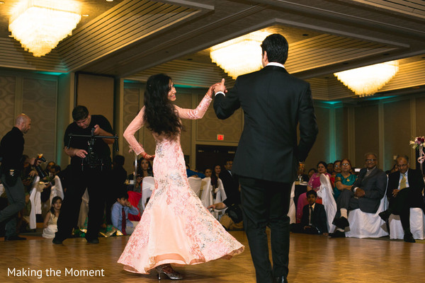indian bride and groom,indian wedding reception fashion,indian wedding reception,indian wedding dance