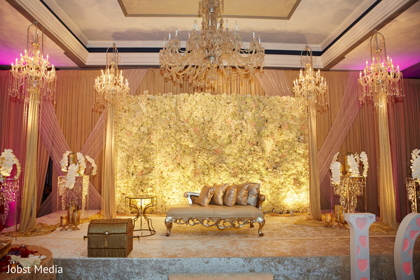 indian wedding reception,indian wedding reception floral and decor,indian wedding planning and design