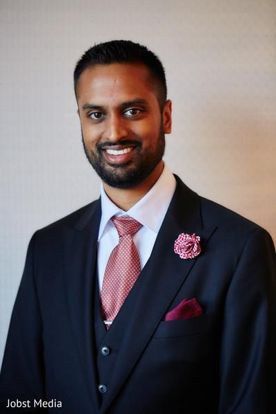 Enchanting indian groom's portrait