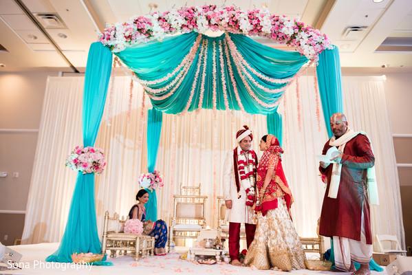 indian bride and groom,indian wedding ceremony,indian wedding decor,indian wedding ceremony ritual