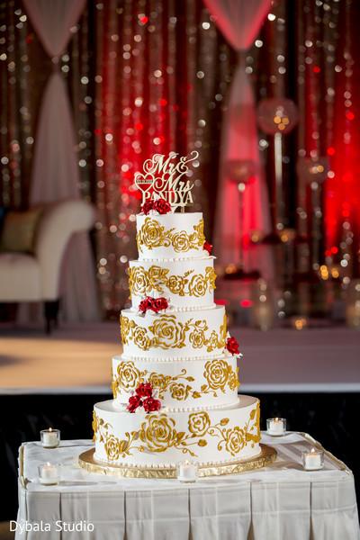 Dreamy indian wedding cake