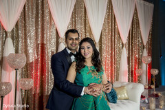 Indian wedding reception photo shoot