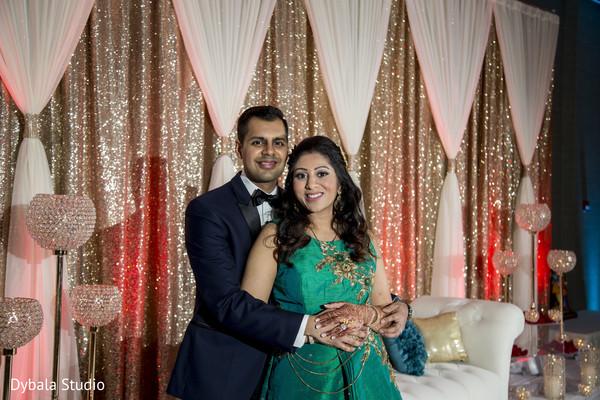 Indian wedding reception photo shoot