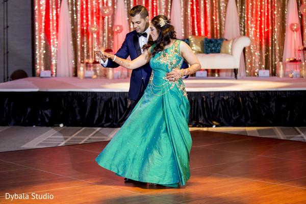 Indian lovebirds having their first dance.