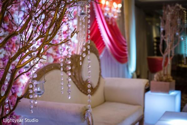 Splendid reception stage decor
