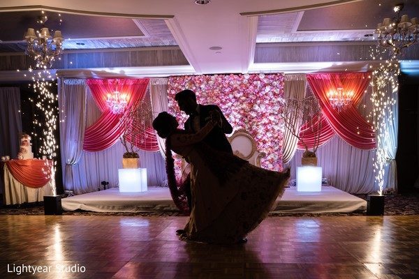 indian wedding reception,indian wedding reception floral and decor,lighting,indian bride and groom