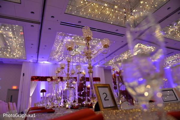 indian wedding reception,indian wedding flower decor,indian wedding table decor