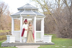 Ravishing Indian bride and grooms out capture.