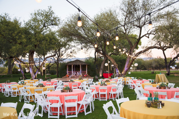 Lovely indian pre wedding event set up