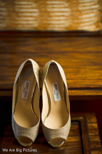 Indian bride's shoes