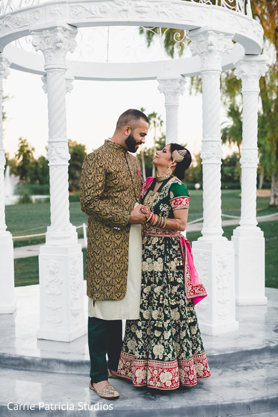 indian pre-wedding fashion,indian sangeet fashion,indian bride and groom