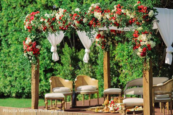 Indian Wedding Stage Decor Photo 172309