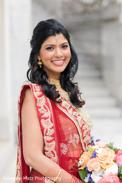 indian wedding gallery,outdoor photography,indian bride fashion,bridal bouquet