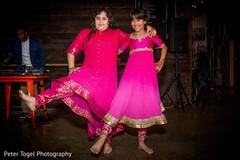 Beautiful indian girls dance performance