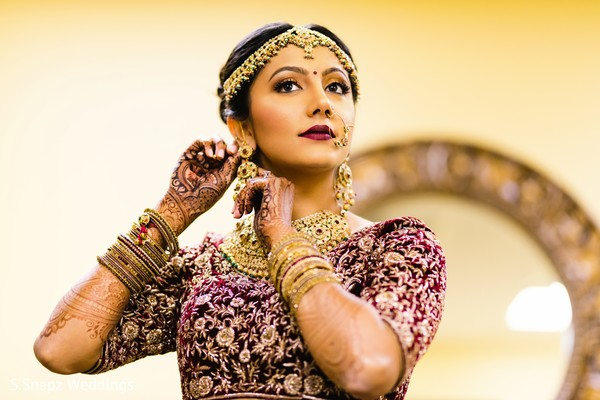 indian bride's fashion,indian bride jewelry,indian bride hair and makeup