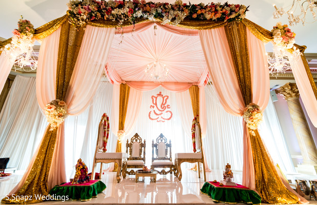 indian wedding ceremony,indian wedding mandap,mandap decoration,indian wedding flowers decoration