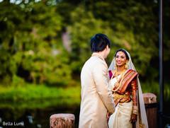 Maharani surprising the groom.
