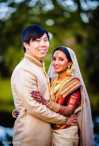 indian bride and groom,indian wedding fashion,indian bride's lengha,indian groom's sherwani