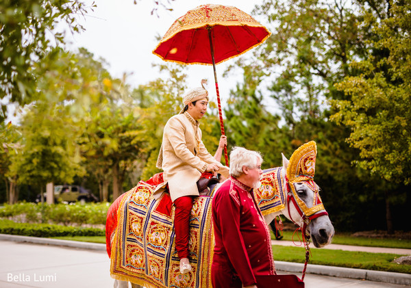 The Woodlands, Texas Fusion Indian Wedding by Bella Lumi