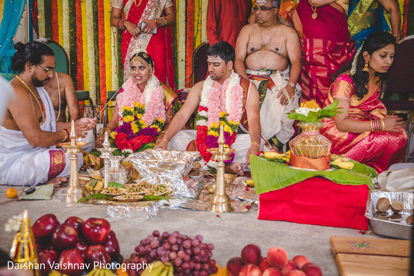 Marvelous Indian wedding ceremony ritual photography.