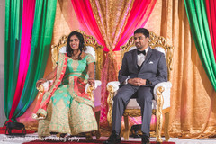 indian bride and groom,indian wedding reception fashion,mandap