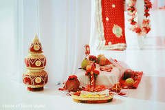 Traditional indian wedding ceremony items
