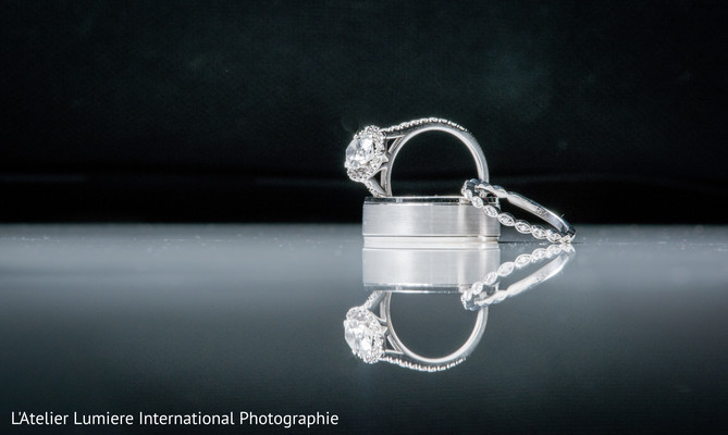 Indian wedding rings photography